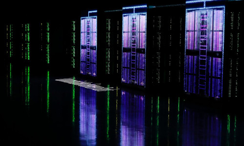 Japan's Fugaku, the world's fastest supercomputer.